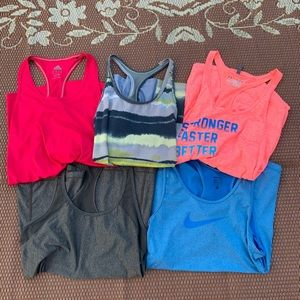 Workout tank tops bundle